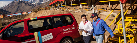 Sodexo employees mine site2